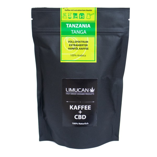 CBD-Kaffee Tansania Tanga 100% Arabica 250g